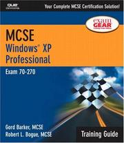 Cover of: MCSE Training Guide (70-270): Windows XP Professional