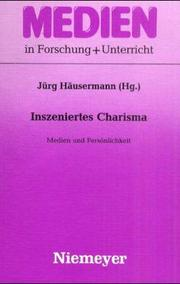 Cover of: Inszeniertes Charisma