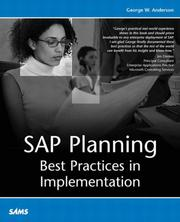 Cover of: SAP Planning