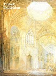 Cover of: Turner in Eastern England
