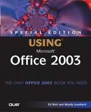 Cover of: Special Edition Using Microsoft Office 2003