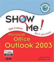 Cover of: Show Me Microsoft Office Outlook 2003 | Johnson, Steve