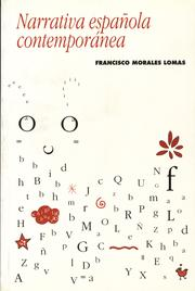 Cover of: Narrativa española contemporánea