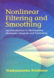 Cover of: Nonlinear Filtering and Smoothing | Venkatarama Krishnan