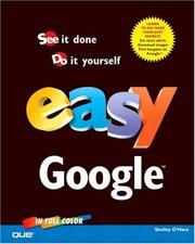 Cover of: Easy Google