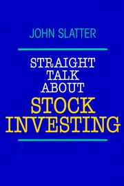 Cover of: Pbs Straight Talk Stock Invest