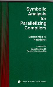 Cover of: Symbolic analysis for parallelizing compilers
