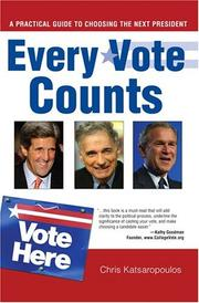 Every vote counts by Chris Katsaropoulos