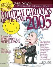 Cover of: The Best Political Cartoons of the Year, 2005 Edition (Best Political Cartoons of the Year) | Daryl Cagle, Brian Fairrington