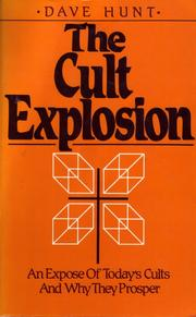 Cover of: The cult explosion