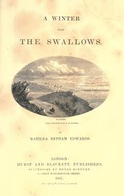 Cover of: A winter with the swallows