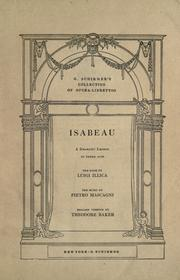 Cover of: Isabeau