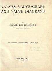 Valves, valve-gears & valve diagrams by Franklin De Ronde Furman