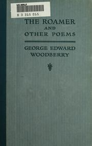 Cover of: The Roamer And Other Poems