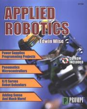 Applied Robotics by Edwin Wise