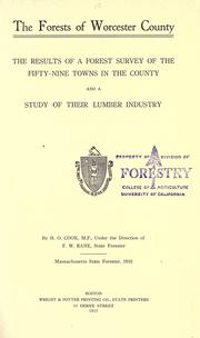 Cover of: The forests of Worcester County