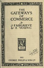 Cover of: The gateways of commerce