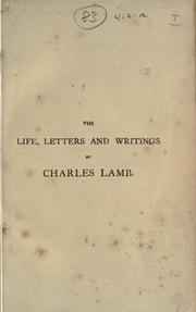 Cover of: Life, letters, and writings: Edited with notes and illus.