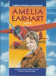 Cover of: Amelia Earhart (Women of Achievement)