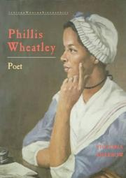 Cover of: Phyllis Wheatley (Junior Black Americans of Achievement)