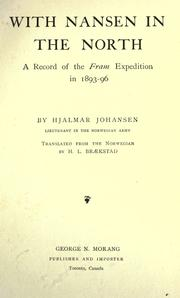 With Nansen in the North by Hjalmar Johansen