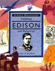 Cover of: Thomas Edison and electricity