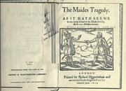 Cover of: Maid's tragedy
