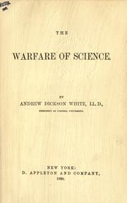 Cover of: The warfare of science
