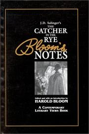 Cover of: J.D. Salinger's Catcher in the Rye