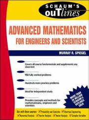 Cover of: Schaum's Outline of Advanced Mathematics for Engineers and Scientists