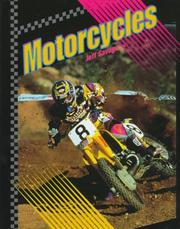 Cover of: Motorcycles