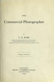 Cover of: The commercial photographer