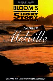 Cover of: Herman Melville: Comprehensive Research and Study Guide (Bloom's Major Short Story Writers)
