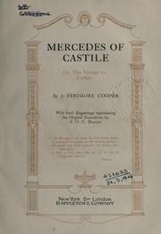 Cover of: Mercedes of Castile: or, The voyage to Cathay