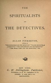 Cover of: The spiritualists and the detectives