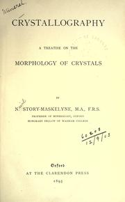 Cover of: Crystallography
