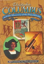 Cover of: Christopher Columbus and the discovery of the New World