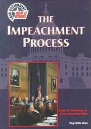 Cover of: The impeachment process