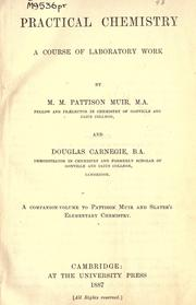 Cover of: Practical chemistry | M. M. Pattison Muir
