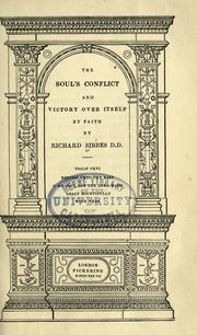 Cover of: The soul's conflict and victory over itself by faith