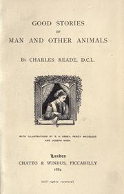 Cover of: Good stories of man and other animals