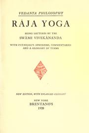 Cover of: Rāja-yoga