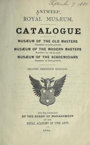 Cover of: Catalogue