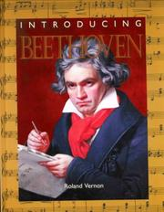 Cover of: Introducing Beethoven | Roland Vernon