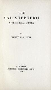 Cover of: The sad shepherd: a Christmas story