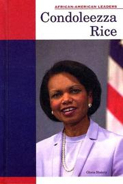 Cover of: Condoleezza Rice (African-American Leaders) |