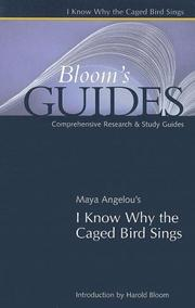 Cover of: I know Why the Caged Bird Sings (Blooms Guides)