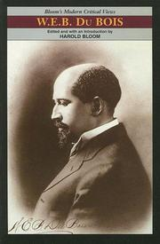 Cover of: W.E.B. Du Bois