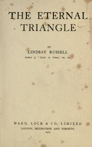 Cover of: The eternal triangle
