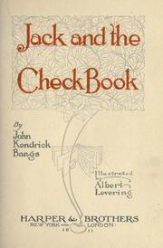 Cover of: Jack and the check book